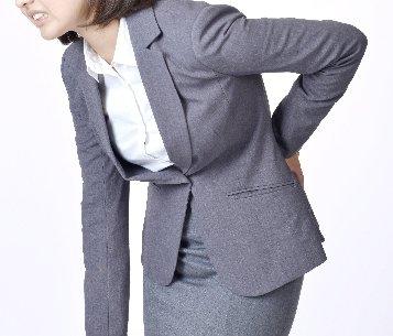 ギックリ腰のイメージ図